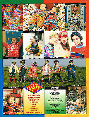 Collectibles Breweriana, Beer Publicite Advertising 114 1994 Olilily Vetements Enfants Punctual Timing