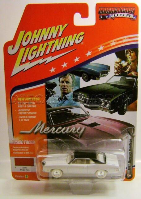 #7 2016 JOHNNY LIGHTNING MUSCLE CARS USA 1971 MERCURY MONTEGO GREEN