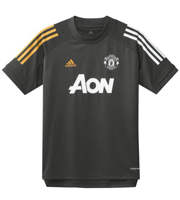 Youth adidas 2020-21 Manchester United Training Jersey M Medium ...