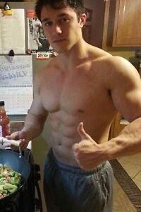Muscular jock