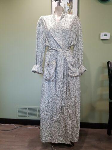 Vintage Neiman Marcus 100% Silk Sage  Nightgowns F