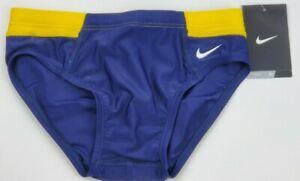 Nike-Performance-Boy-Men-Victory-Color-Block-Swim-Briefs-VMAZE-Free-Shipping