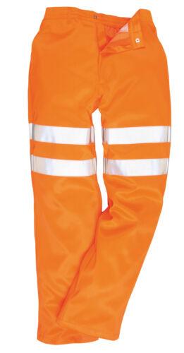 Hola Vis Pantalones de trabajo Pantalones de seguridad Go/Rt Alta Visibilidad polivinílico-algodón S - 5XL RT45