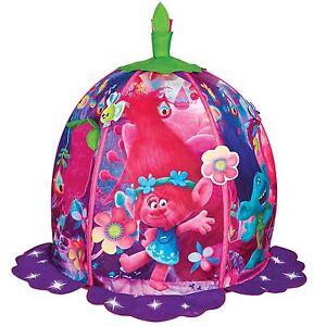 Les-Trolls-Poppy-039-s-Capsule-Tente-de-jeu-pop-up-interieur-exterieur-enfants