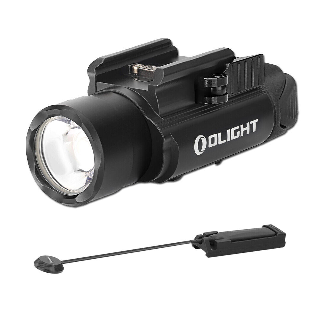 Olight PL Valkyrie Recargable Linterna & Olight Pro interruptor de presión (Negro)