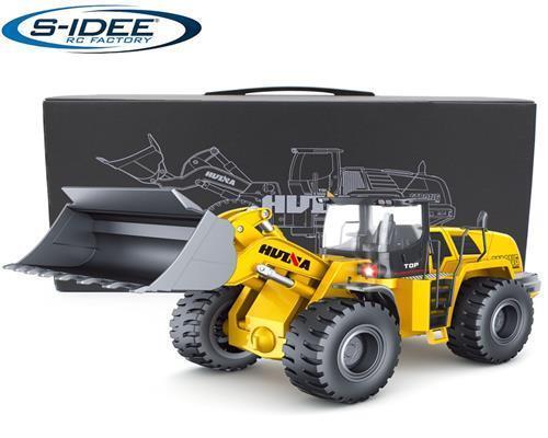 s-idee® Radlader Metall 1:14 Profi RC Modell Huina 583 1583 Bagger