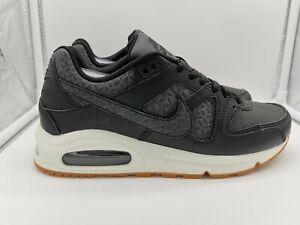 Dettagli su Nike Da Donna Air Max Command Prm UK 7.5 Nero VELA Gum Med Brown 718896 004 mostra il titolo originale