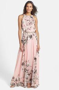 Details about NEW ELIZA J Pink Floral Print