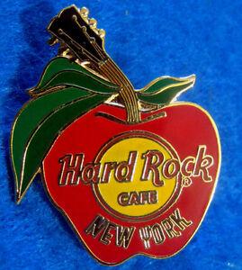 New-York-Citta-il-Grande-Apple-Logo-Chitarra-collo-Stelo-Nyc-Rock-Cafe-Spilla