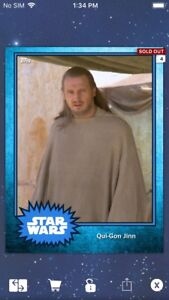 Topps-Star-Wars-Digital-Card-Trader-Blue-Steel-Qui-Gon-Jinn-Base-4-Variant