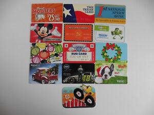 Das Bild Wird Geladen 13 US SAMMLER GIFT CARD HOOTERS WALMART SUBWAY