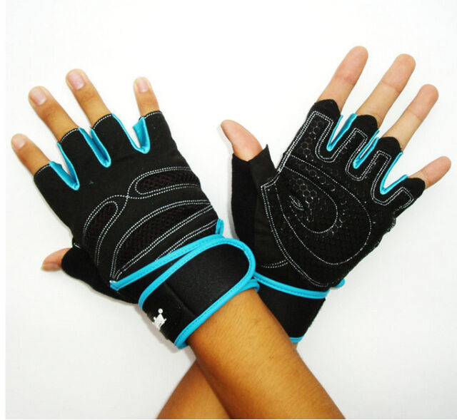 Hot More Size Men Weight Llifting Gym Gloves Training Fitness Exercise Sports