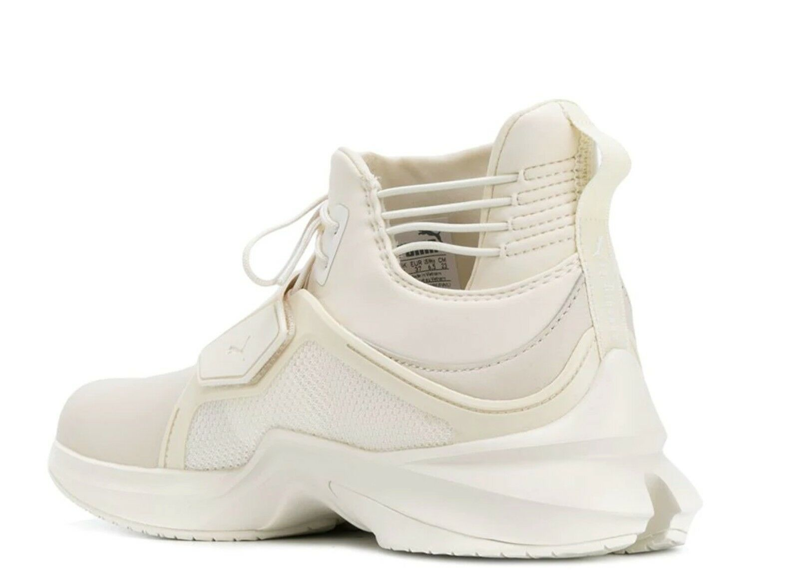 FENTY X PUMA Rihanna Hi-Top Hi-Top Hi-Top Trainer Off White Leather Sneakers US 9 NEW 197398 edadae