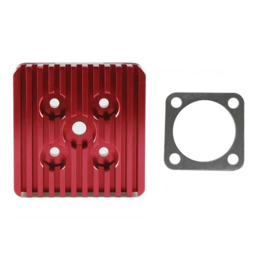 Racing CNC Cylinder Head For 66cc 80cc Gas Motorized Bicycle Square Color