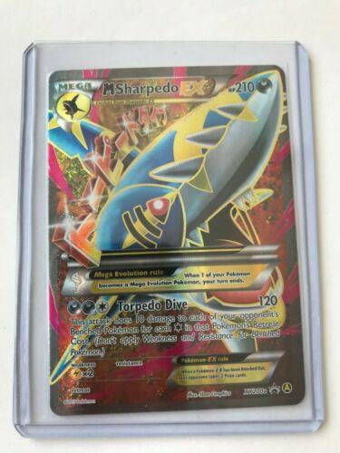 MEGA Sharpedo EX FULL ART Xy200a Promo Card Alternate NM Holo Pokemon TCG REAL