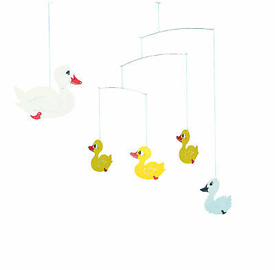 Flensted Ugly Duckling Duck Swan Hanging Baby Mobile-Free shipping!