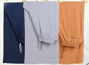 linen shaolin monk kung fu pants buddha buddhist zen lay wushu trousers