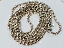 3e80f412af76d Genuine PANDORA Necklace Oxidized Ball Chain 590712ox-80 80cm 31.5 ...