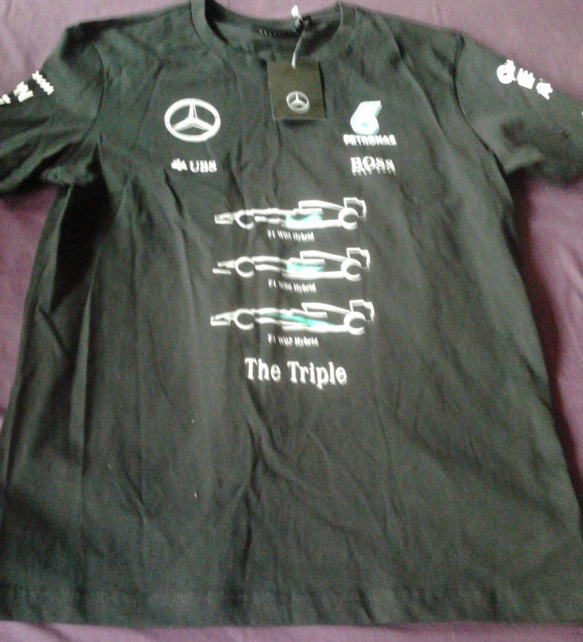 New Mercedes Benz collection F1 Championship T-shirt (size M)