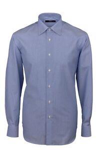 Caricamento dell immagine in corso  Camicia-Ingram-Regular-Fit-Azzurro-mille-righe-Cotone- 883896d5998