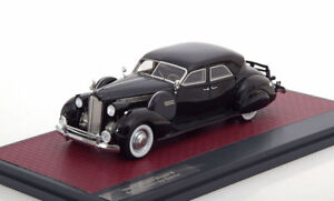 Packard Super 8 Sport Berline De Darrin 1940 Noir Matrix Mx51601-012 1/43 Résine
