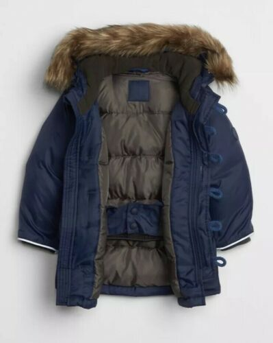 Details about  /Gap Baby Boy Toddler Cold Control Max Down Parka Jacket Green Size 18-24 Months