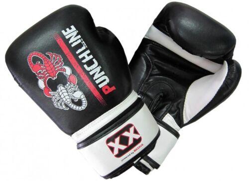 PUNCHLINE SCORPION Boxhandschuhe 14 Oz Kampfsport Boxen Training Kunstleder