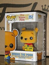 Funko Pop! Disney Winnie The Pooh (Flocked) #252 Hot Topic Exclusive