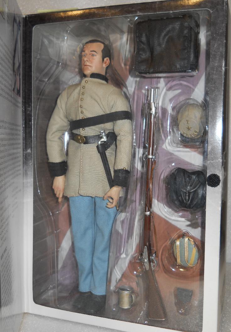 1 6 Sideshow Bredherhood in Arms Civil War Confederate 1st TEXAS Infantry MIB