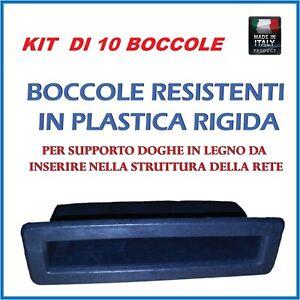 Stable Kit 10 Supporto,boccola Ricambio Per Doga ,doghe In Legno Di Faggio Per Reti Paquet éLéGant Et Robuste