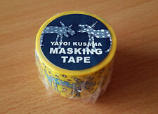 LAST!! YAYOI KUSAMA RING-RING TOKO-TON masking tape Japan Exhibition LImited