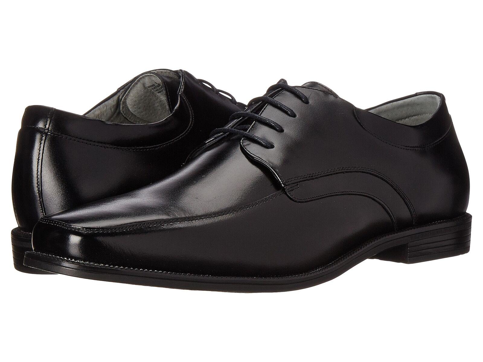 Homme Florsheim Forum Moc Toe Oxford noir chaussures en cuir 14153-001
