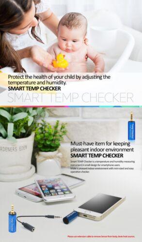 Smart TEMPERATUR FEUCHTIGKEIT Messgerät für Smartphone iOS iPHONE ANDROID