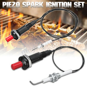 Universal-Piezo Spark Ignition Push Button Igniter Fireplace Stove Gas Grill BBQ