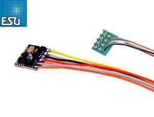 ESU-59820-LokPilot-micro-DCC-Decoder-V5-0-8-pol-Schnittstelle-NEM652-NEU-OVP