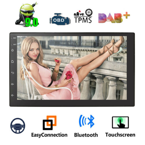 "Quad Core Android Auto Radio 9.0 3G WIFI 7/"" 2DIN 1080P MP5 GPS Navi BT Player~"