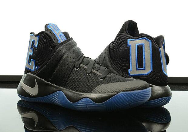 Nike Kyrie 2 DUKE size 14. PE Blue Devils. 838639-001 QS LTD LIMITED. Black 3M.
