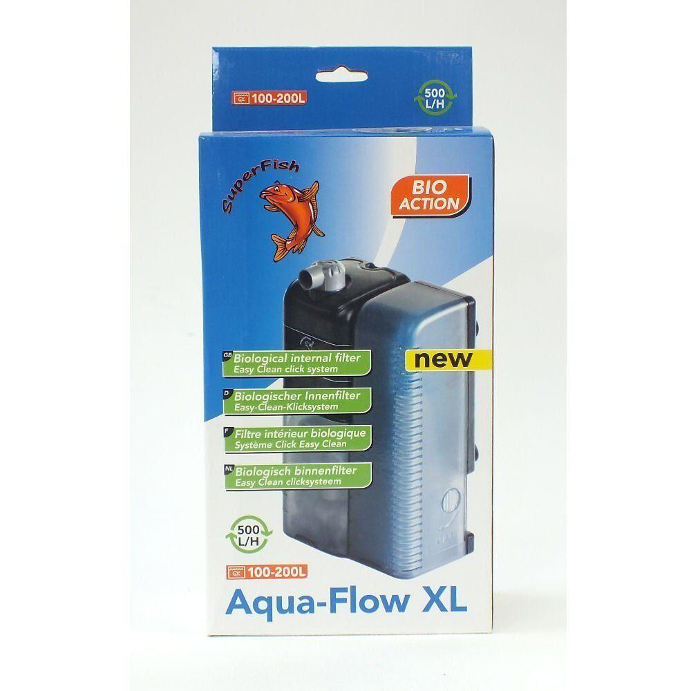 Superfish Aqua Flujo Peces Acuario XL Filtro 500 L H