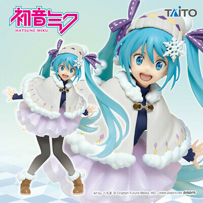 Taito Vocaloid Hatsune Miku Summer Version Renewal Figure New Boxed From Japan