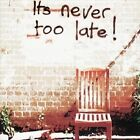 It's Never Too Late! by Nine Below Zero (CD, Sep-2009, Angel Air Records)