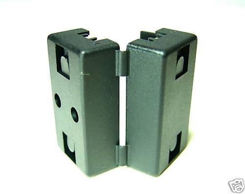 2pc AC Line EMI Filter LF-65B Open//Close Through Hole=φ7mm Size=20x19.5x32.5mm