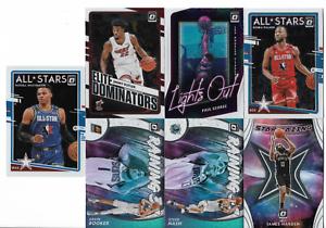 2020-21 Panini Donruss Optic Basketball Insert Card Lot! Booker Harden Westbrook