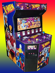 Image is loading Mini-X-men-6-Player-Arcade-Cabinet-Collectible-  sc 1 st  eBay & Mini X-men 6 Player Arcade Cabinet Collectible Display | eBay