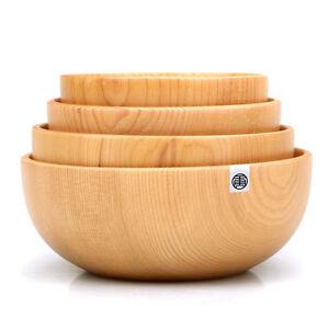 image is loading - Wooden Salad Bowls