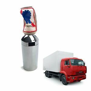 Crushed-Beer-Can-Shift-Knob-Kit-13-15-18-Speed-Eaton-Fuller-Peterbilt-Semi-Truck
