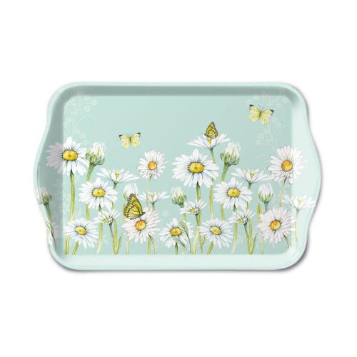 Daisy vert 13 x 21 cm Mélamine Serving Snacks Tea AMBIENTE Scatter Plateau
