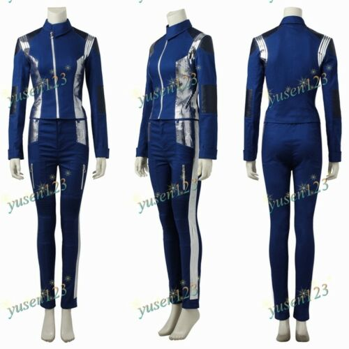 Star Trek Discovery Michael Burnham Cosplay Costume Comic Con Women/'s Outfit