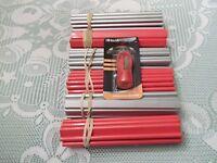 Carpenter Pencils - 72 (6 Dozen) Black Lead & Carpenter Pencil Sharpener