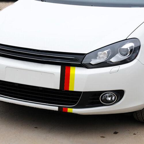 1 Set New GERMAN GERMANY FLAG DIY Car Stripe Sticker Decal For BMW Volkswagen VW