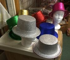 12 New Years Eve Party Hats Wholesale Glitter Hats Assorted Colors